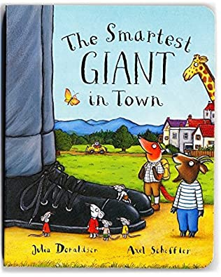 book cover of The Smartest Giant in Town