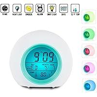 Despertador LED con luz de despertador con alarma