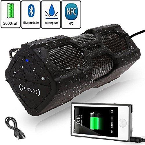 Bluetooth Speakers Portable, Waterproof Indoors Outdoors ...