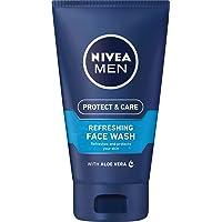NIVEA MEN Protect & Care Refreshing Face Wash Gel, 150ml