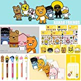 Kakao Friends Notebook Pen Sticker Sticky Memo