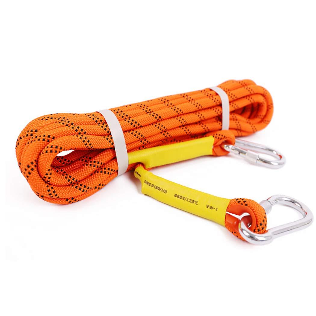 【完売】  HSBAIS アウトドア 防災の場合 クライミングロープ アウトドア ザイルガイロープ 安全、10.5 HSBAIS mm 太さ プロ 高強度 補助ザイル、カラビナ、登山 防災の場合 B07QMKZYBB orange 30m(98ft) 30m(98ft)|orange, オレンジ園:5e90d214 --- a0267596.xsph.ru