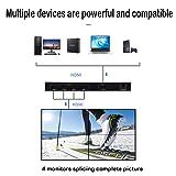 2X2 TV Wall Controller, 2x2 4K Video Wall HDMI