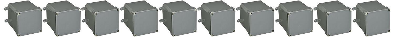 Pack of 10 Thomas /& Betts E987N 4 X 4 X 4 Junction Box