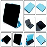 "Meijunter Blue Holder Leather Protector Pouch Case Cover For 7"" Kindle Fire HD 7 2th 2012 Tablet"