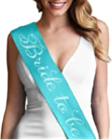 Bride To Be Sash - Bridal Shower Bachelorette Party Bride Accessories & Gifts
