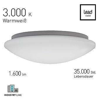 LED Deckenleuchte Basic Light rund Ø 40cm: Amazon.de: Elektronik