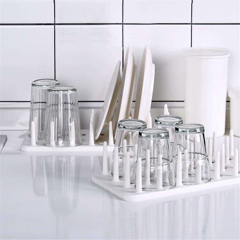 /Scolapiatti PP/ /Scolapiatti Posate ciotole/ Scolapiatti Cesto Porta Posate in plastica Cestino per lavastoviglie/ piatti /favourall bianco adatto per bacchette termoretraibile Bar