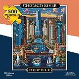 Dowdle Folk Art Chicago River Puzzle