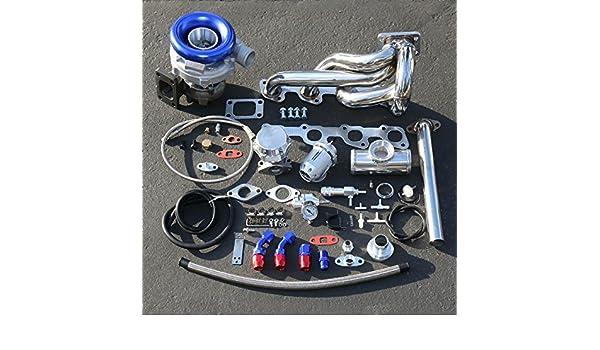 Volvo 240 Serie alto rendimiento 9pcs t04e Turbo Upgrade Kit de instalación: Amazon.es: Coche y moto
