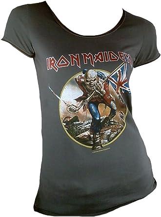 La ropa en amplificado para mujer Iron Maiden Troop T ...