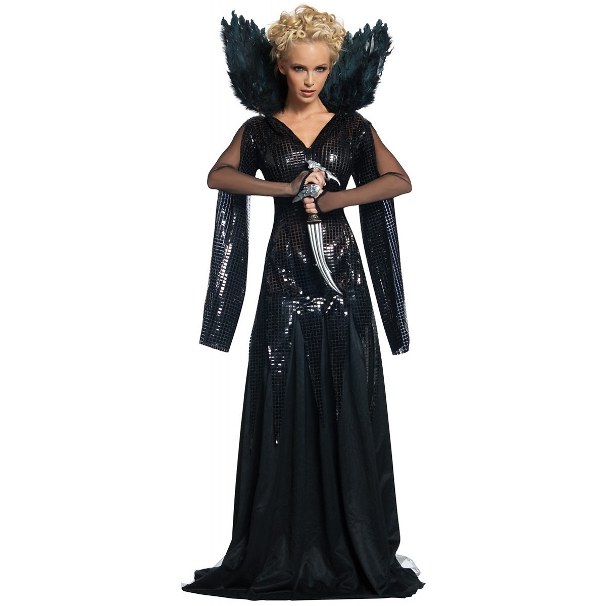 9f8cb21e03 Amazon.com  Deluxe Queen Ravenna Adult Costume - Large  Clothing