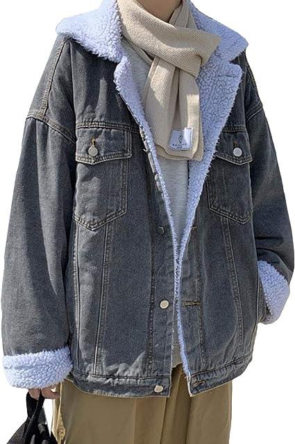 YiTongデニムコート メンズ デニムジャケット 冬 裏起毛 ブルゾン あったか gジャン防寒 コート ボアジャケット 学生 アウター かっこいい