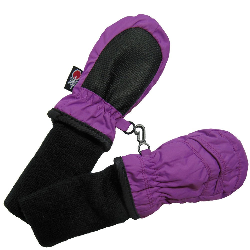 SnowStoppers Kid's Stay-on Nylon Mitten Extra Small NM2XSPR