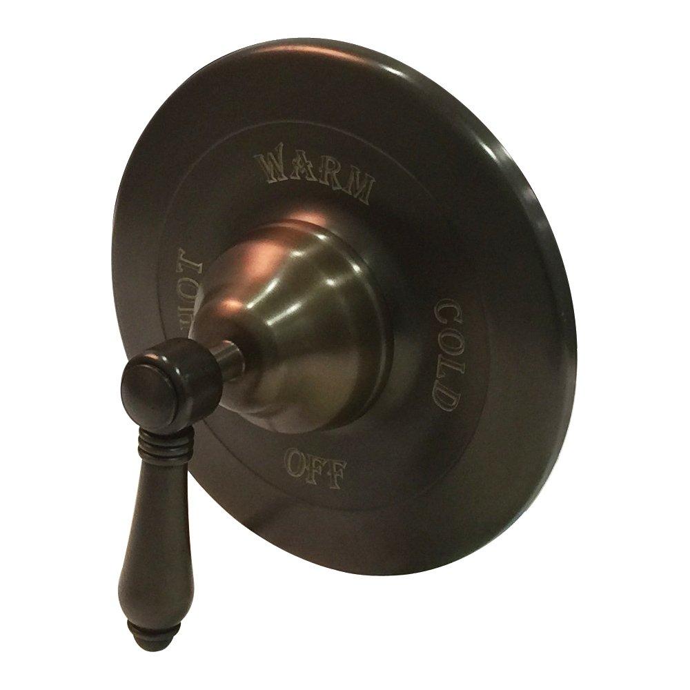 圧力バランストリムwithout切替弁 A1400LMTCB 1 トスカーナ真鍮(Tuscan Brass) トスカーナ真鍮(Tuscan Brass) B003E65TTO