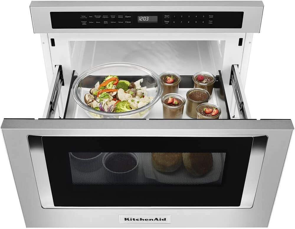 Amazon.com: KitchenAid 24 en. W 1,2 cu FT. Debajo del ...