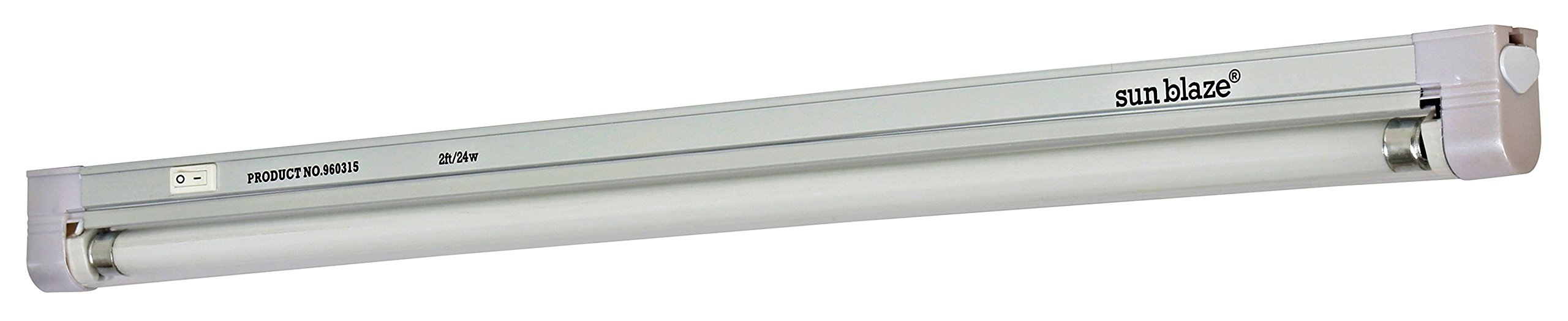 Sun Blaze T5 Fluorescent - 2 ft. Fixture | 1 Lamp | 120V - Indoor Grow Light Fixture for Hydroponic and Greenhouse Use