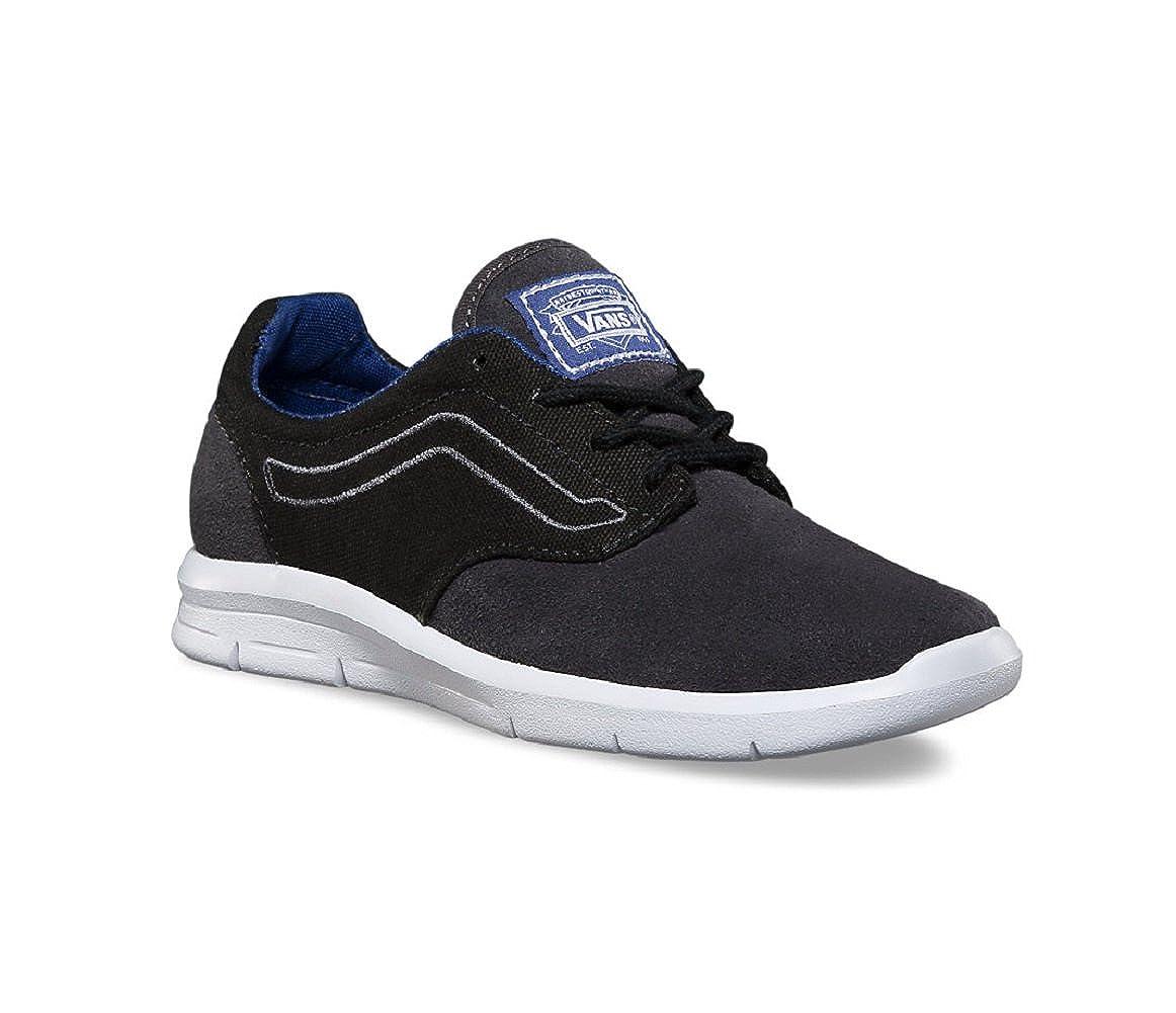 e9eaabcdd81 Amazon.com   Vans Boy's Iso 1.5 (Pop) Black/Sodalite Blue Trainers ...