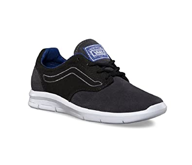 bf1d2e664143 Vans Boy s Iso 1.5 (Pop) Black Sodalite Blue Trainers (10.5 M US