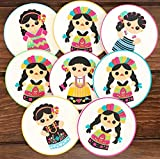By Mexico India Maria Coasters for Drinks and Any