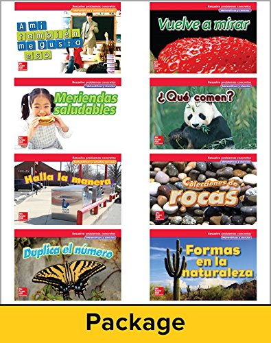 McGraw-Hill My Math, Grade 1, Spanish Real-World Problem Solving Reader Package for My Learning Station (Elementary Math Connects)
