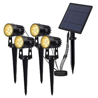 led proyector solar exterior, T-SUN foco solar led para exterior ...