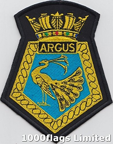 HMS Argus Royal Navy Aircraft Carrier Embroidered (Hms Aircraft Carriers)
