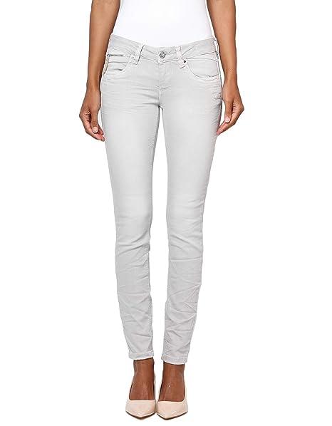Gang Nikita Skinny Fit Damen Jeans, grau (Grey Pearl ant