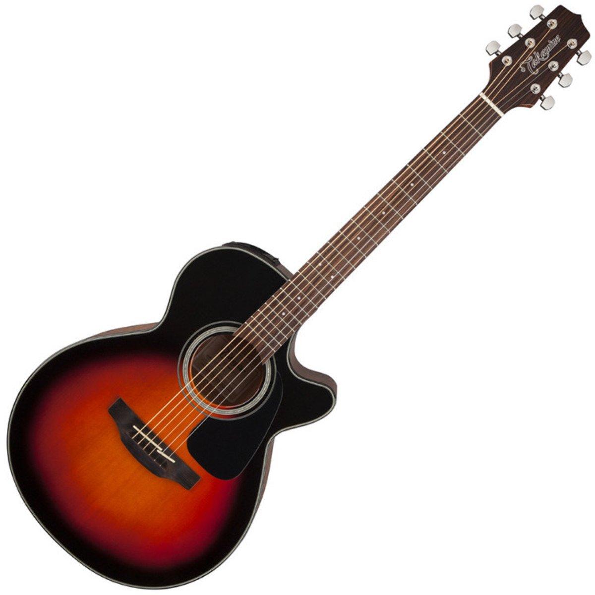 TAKAMINE gf30ce fxc marrón Sunburst A/E Guitarra Performer Pak W ...