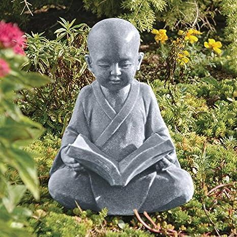 Amazon Design Toscano Baby Buddha Studying The Five Precepts Impressive Buddhist Garden Design Decoration
