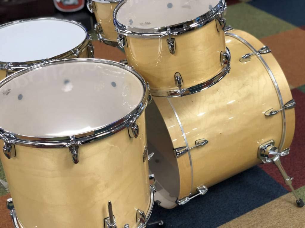 22 Kick Honey Amber Yamaha Stage Custom Birch 5pc Drum Shell Pack