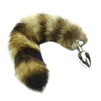 6e26f37da Amazon.com  Susada Faux Raccoon Tail Butt Anal Plug Sexy Romance Sex ...
