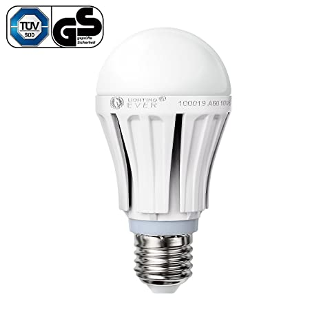 Le 10 W A60 E27 LED bombilla, Samsung LED, reemplazar 60 W bombilla,