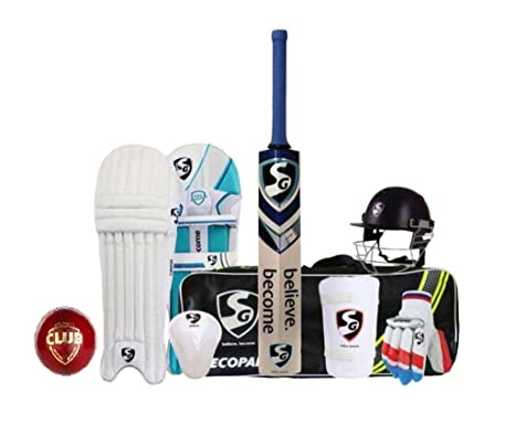 4abc3be1650 Buy SG Economy Cricket Kit - Full Kit Online at Low Prices in India -  Amazon.in