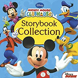 Disney Mickey Mouse Clubhouse Storybook Collection Treasury Rh Amazon Co Uk Book With Figures Bookshelf