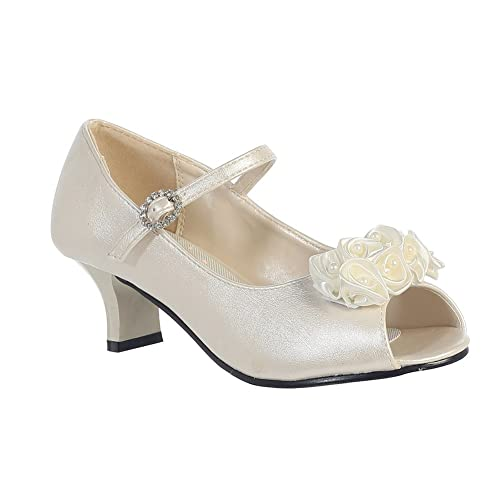 Shoes Evening Dress in Ivory