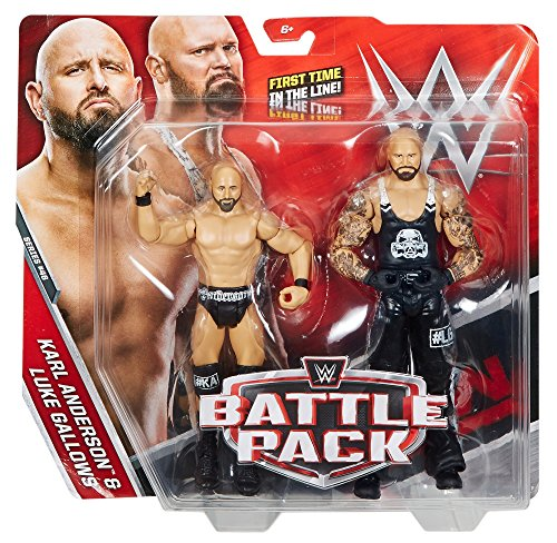 - WWE Karl Anderson & Luke Gallows Action Figure (2 Pack)