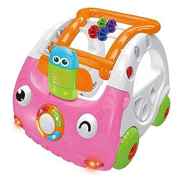 Trolley para Bebé Niño Pequeño Andador De Actividad 3 En 1 Altura ...