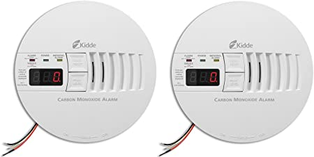 Kidde KN-COP-IC Hardwire Carbon Monoxide Alarm with Battery Backup and Digital Display Interconnectable