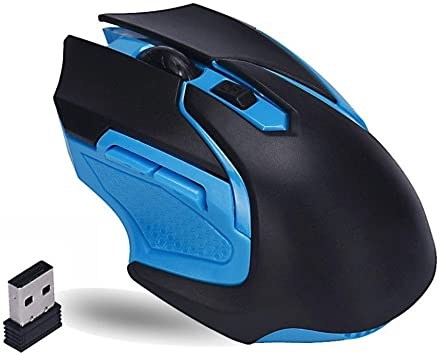 2.4GHz 3200DPI Wireless Gaming Gamer Mouse Mice+USB receiver For PC Computer New