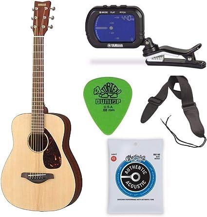 Yamaha JR2 - Guitarra de escala 3/4 con bolsa de gigo, correa ...