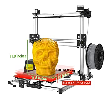 Amazon.com: Crazy3DPrint CZ-300 impresora 3D de bricolaje ...