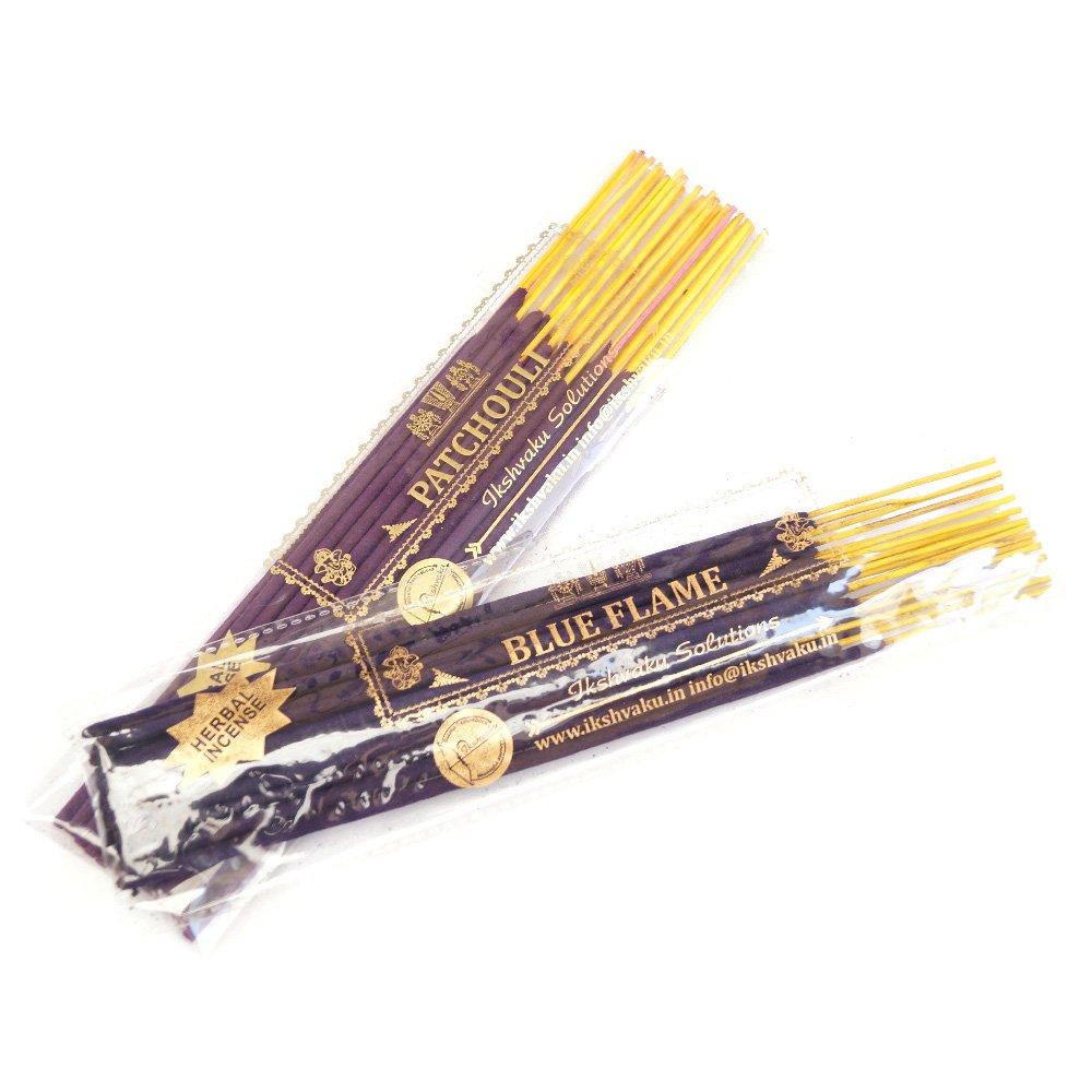 パチュリブルーFlame Incense Sticks Combos B00ZPEPU10