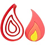 Flame Cookie Cutter Set (3 inches)