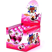 Chocolate egg for girl - pack of 24pcs