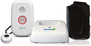MobileHelp Solo - GPS Mobile Medical Alert System for Seniors – NO Monthly FEES Two Years!