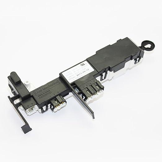 SAMSUNG OEM Original Part: DC34-00024B Washer Door Lock Switch Solenoid