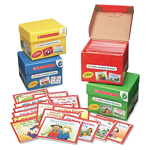 Scholastic Products - Scholastic - Little Leveled Readers Mini Teaching Guide, 75-Books, 5 Each of 15 Titles - Sold As 1 Pack - Step-by-step, book-by-book program guides children through the early stages of reading. - Little Leveled Readers have been carefully evaluated by a reading specialist to correlate with Guided Reading Levels. - Includes Level A Set, Level B Set, Level C Set and Level D Set. - Inside each set you'll find 75 storybooks (five copies of 15 titles) on topics children lov ()