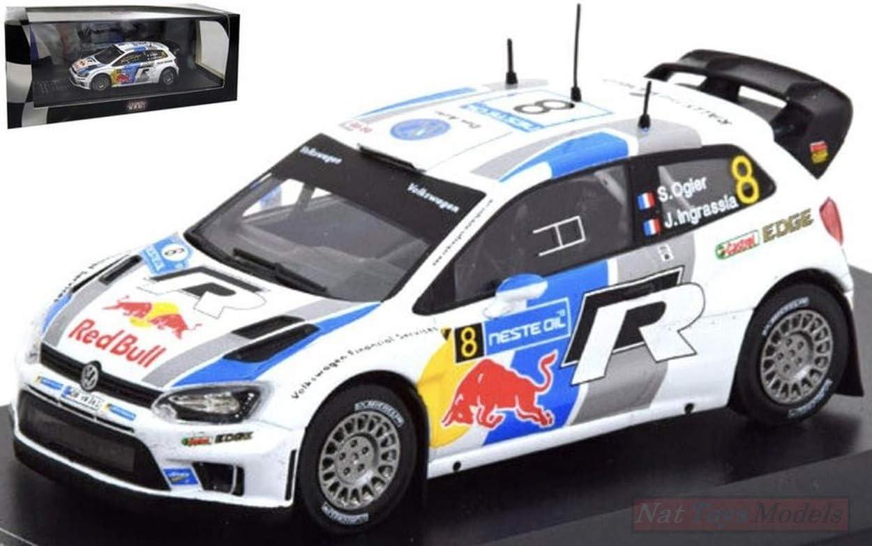 EDITORIA RD17 VW Polo WRC N.8 Finland Rally OGIER-INGRASSIA 1:43 Die CAST Model