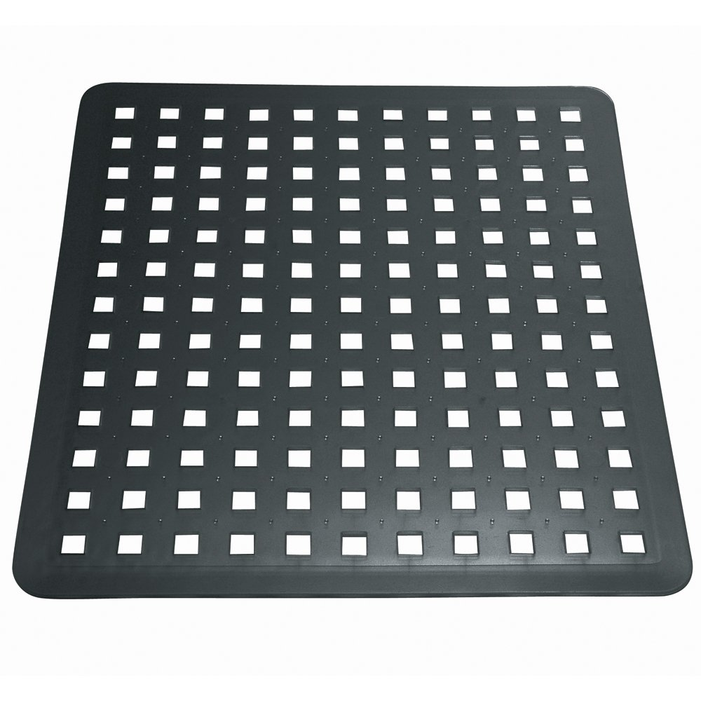 interdesign euro kitchen sink protector mat regular black ebay. Black Bedroom Furniture Sets. Home Design Ideas
